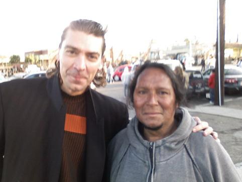 Gabriel con El Indio