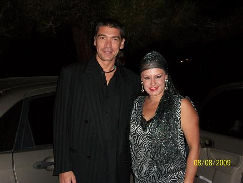 Gabriel & Vilma Diaz (singer from «La Sonora Dinamita»)