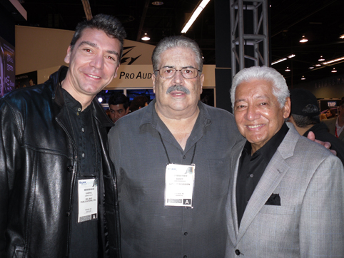 "Gabriel with Johnny ""Dandy"" Rodriguez & Pete Escovedo"